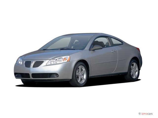 2008 Pontiac G6 2-door Coupe GT Angular Front Exterior View