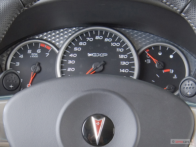 Image 2008 Pontiac Grand Prix 4 Door Sedan Gxp Instrument