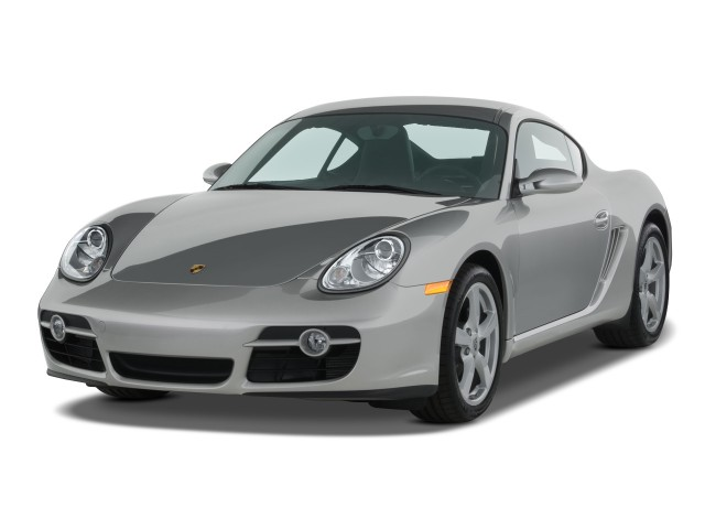 2008 Porsche Cayman 2-door Coupe Angular Front Exterior View