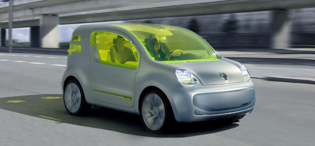 Renault Joins Electric Fray With Ze Concept