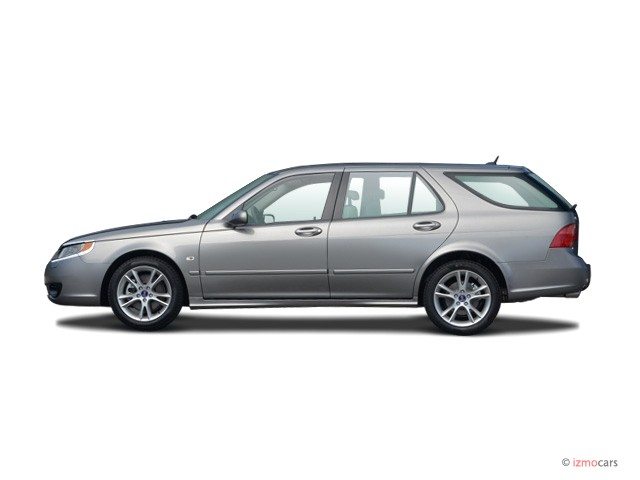 2007 Saab 9-5 4-door Wagon Side Exterior View