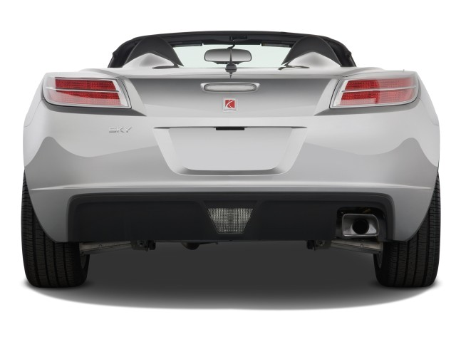 Amazing 2008 Saturn Sky 2 Door Convertible Rear Exterior View