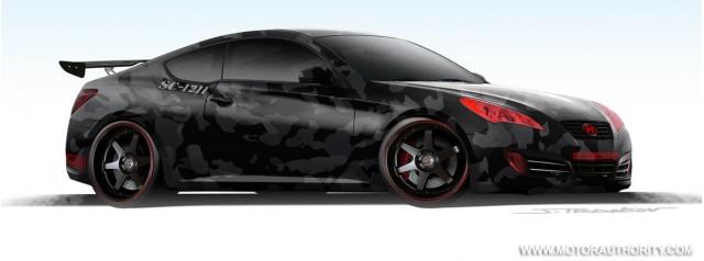 2008 Sema Hyundai Genesis Coupe Street Concepts 001