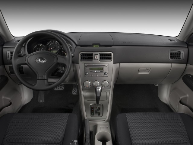 image 2008 subaru forester 4 door auto sports x dashboard. Black Bedroom Furniture Sets. Home Design Ideas