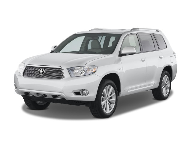 2008 Toyota Highlander Hybrid 4WD 4-door Limited w/3rd Row (Natl) Angular Front Exterior View