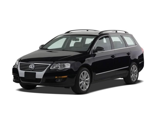 2008 Volkswagen Passat Wagon 4-door Auto VR6 4Motion Angular Front Exterior View