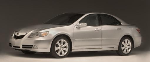 2009 Acura RL debuts at Chicago
