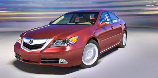 2009 Acura RL receives IIHS Top Safety Pick