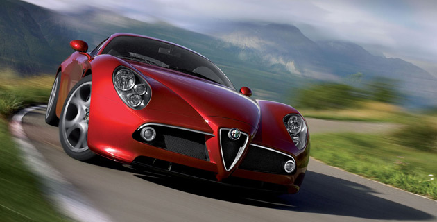 8C Competizione went on sale in U.S. this month but won't be joined by fellow Alfa Romeos until 2011