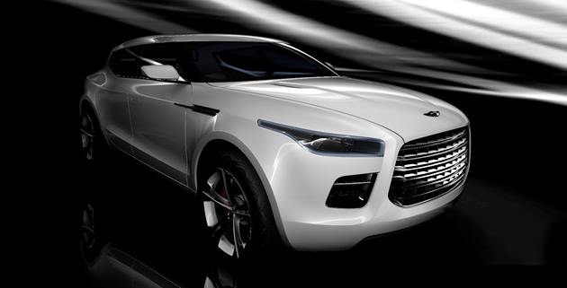 The GL-based Lagonda Concept is the first tangible evidence of the existence of a partnership between Mercedes and Aston Martin