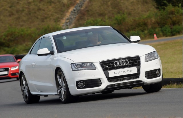 Audi A5 Aluminum Prototype Sheds 220-Pounds