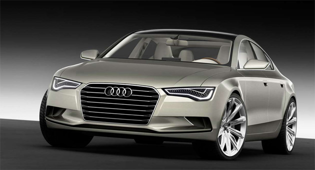 A previous official sketch of the A7 shows a very sleek and aggressive design for the upcoming coupe-saloon