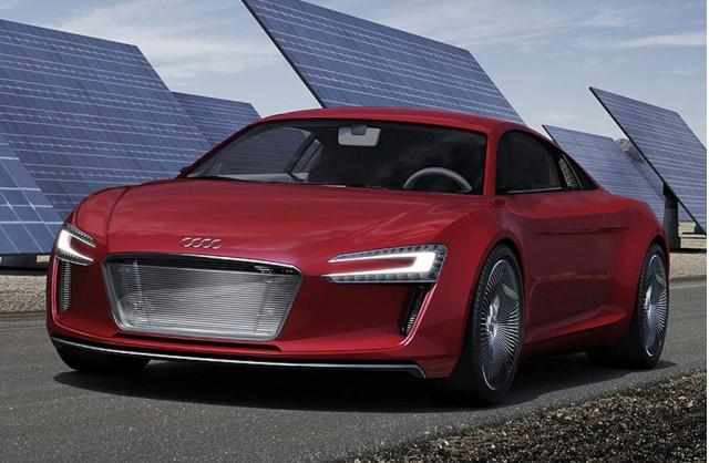 High Quality 2009 Audi R8 E Tron Concept
