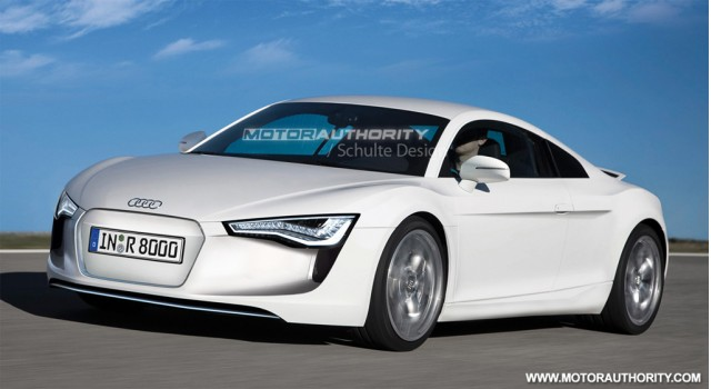 2009 Audi R8 ePerformance preview