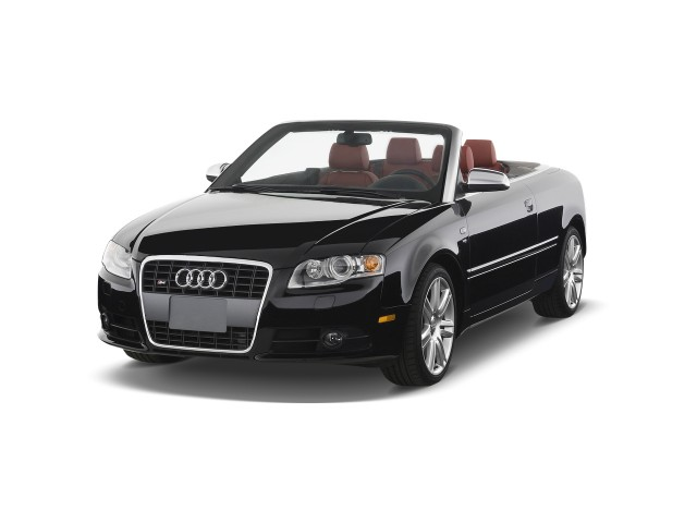 2009 Audi S4 2-door Cabriolet Auto *Ltd Avail* Angular Front Exterior View