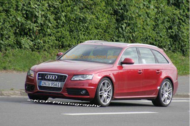 2009 Audi S4 Avant Spy Shots