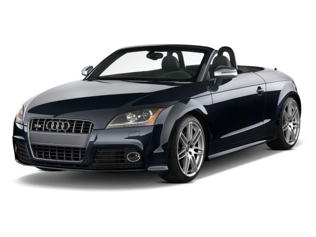 2009 Audi TTS 2-door Rdstr AT 2.0T quattro Prestige Angular Front Exterior View