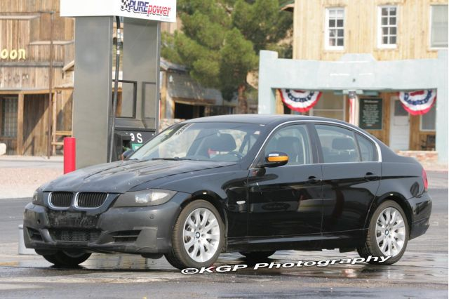 2009 BMW 335d Spy Shots