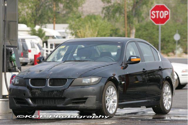 2009 BMW 335d Spy Shots