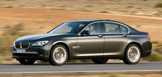 Allwheel Drive BMW Series Due Later This Year - 2009 bmw 745li