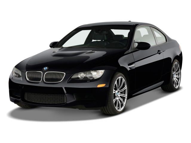 2009 BMW M3 2-door Coupe Angular Front Exterior View