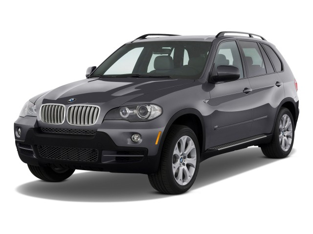 2009 BMW X5-Series AWD 4-door 48i Angular Front Exterior View