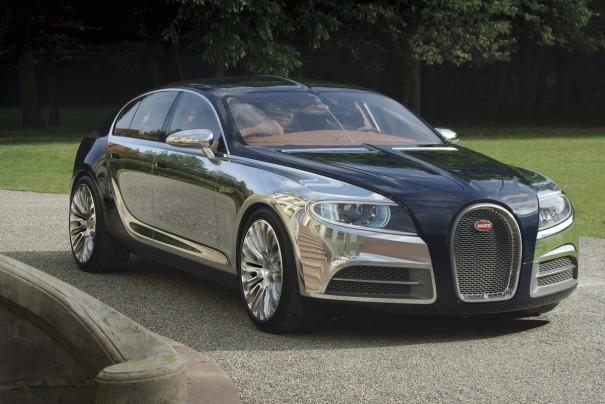 Bugatti Galibier 16C Concept Previews New Super Sedan