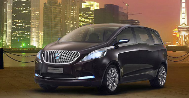 Buick Reveals Business Mpv Concept In Shanghai