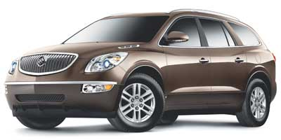 Suvs With Third Row Seats 2009 Buick Enclave Cx