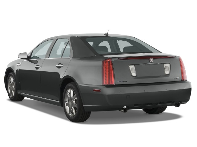 2009 Cadillac STS 4-door Sedan V6 RWD w/1SA Angular Rear Exterior View