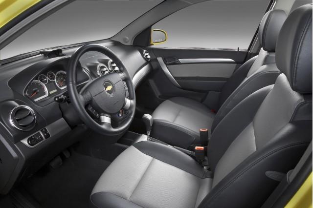 2009 Chevrolet Aveo - interior