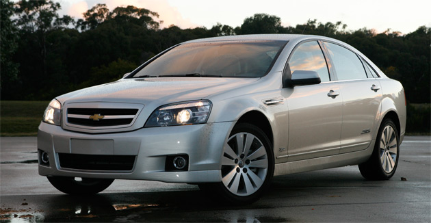 The Caprice will be available in both Royale trim and a sportier SS model (pictured)