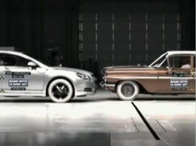 2009 Chevrolet Malibu vs 1959 Chevrolet Bel Air