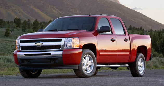 The Silverado was the worst performer, earning a poor rating for side impacts even with optional side airbags