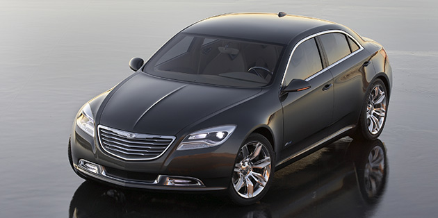 The 200c Concept Showed Chrysler S Commitment To An Electric Future As Well Previewing Automaker
