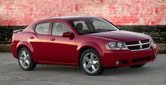 Only 1.5% of Dodge Avengers sold this year were AWD