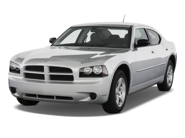 2009 Dodge Charger 4-door Sedan SE RWD Angular Front Exterior View