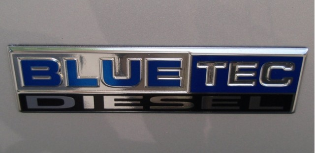Bluetec logo (Dodge Ram HD)
