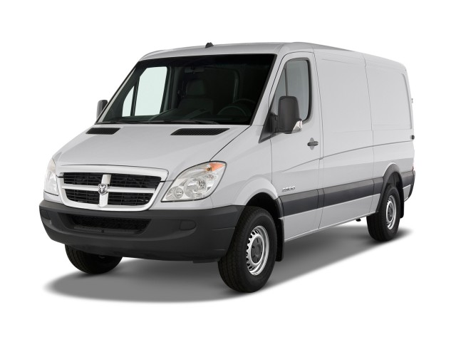 2009 Dodge Sprinter Angular Front Exterior View