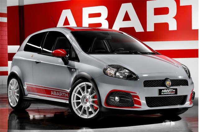 Fiat updates the Grande Punto Abarth SS for 2009