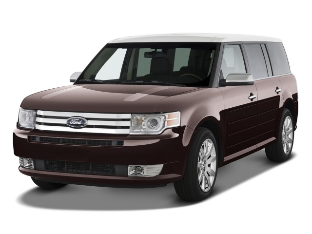 2009 Ford Flex 4-door Limited FWD Angular Front Exterior View