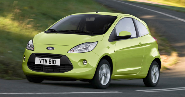 The  Ford Ka Is One Of The Most Stylish Minicars Currently On Sale Overseas