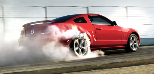 2009 Ford Mustang marks pony car's 45th anniversary