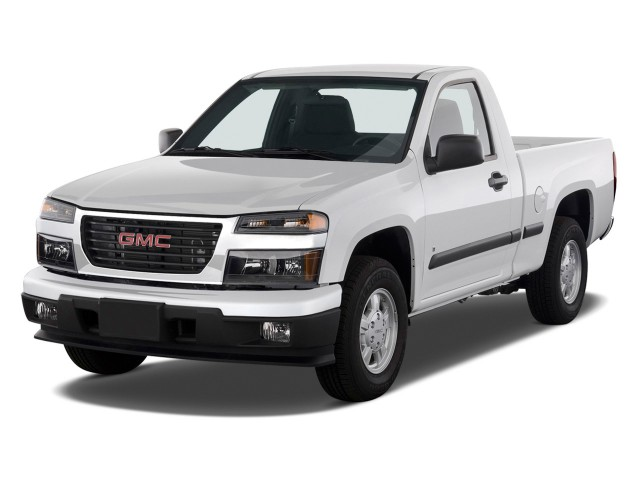 "2009 GMC Canyon 2WD Reg Cab 111.2"" SLE1 Angular Front Exterior View"