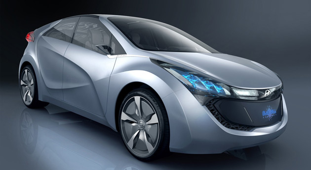 Hyundai's first plug-in hybrid vehicle will be based on the Blue-Will concept car unveiled earlier this year