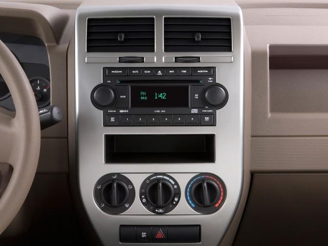 2009 Jeep Patriot FWD 4-door Limited Instrument Panel