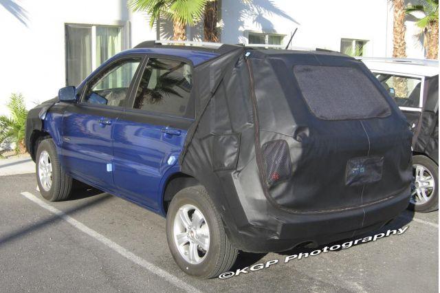 2009 Kia Sportage Spy Shot