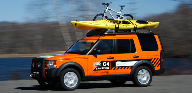 Land Rover cancels G4 Challenge endurance rally