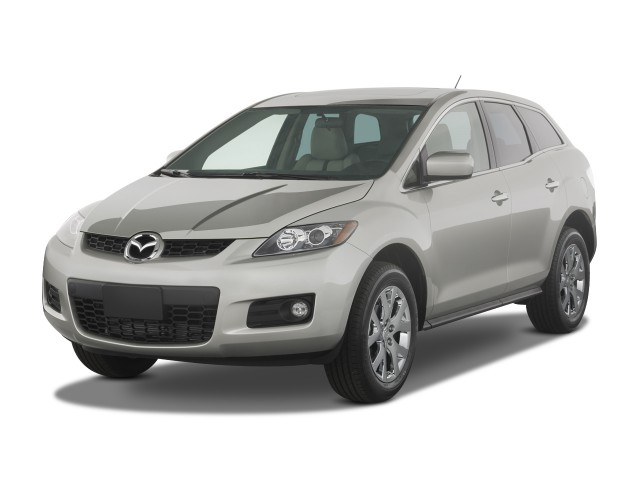 2009 Mazda CX-7 FWD 4-door Grand Touring Angular Front Exterior View