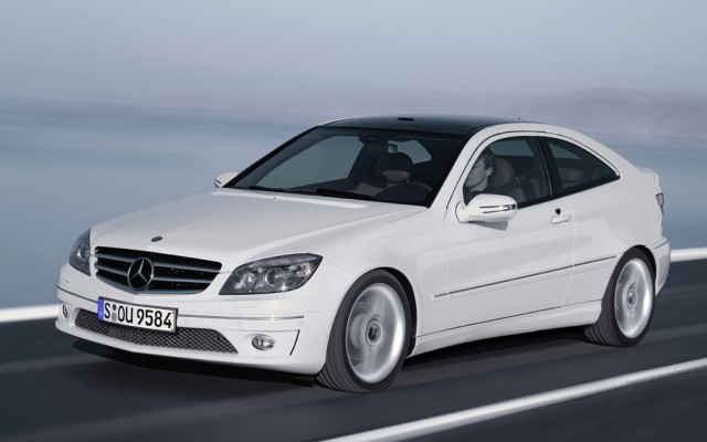 Mercedes benz planning c class coupe not convertible - Mercedes benz coupe 2009 ...